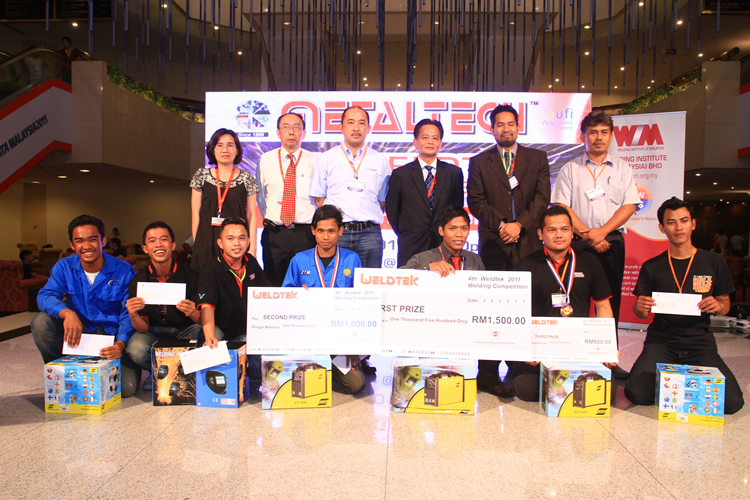4th Metaltech 2011 Welding Competition winners
